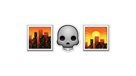 От заката до рассвета Emoji