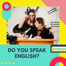 Конкурс - Do you speak English